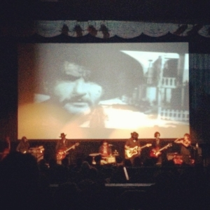 Spindrift with added Bones/Vidal. Thanks all for coming out to our movie premiere.  Photo by @filthyorr