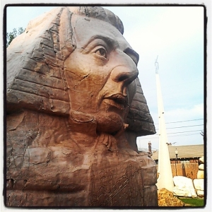 Guess where we are. #josephsmith #sphinx