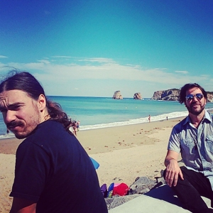El Matador State Beach? Nope, plage d'Hendaye in the French Basque Country. Tonigh in Toulouse @ La Dynamo!