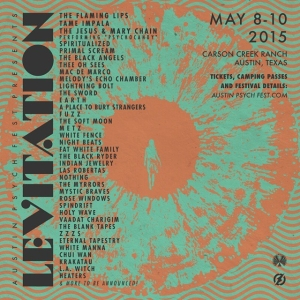 See you in Austin May 8-10 @austinpsychfest_