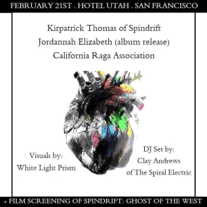 Screening our film Spindrift: Ghost of the West at Historic Hotel Utah Saloon in SF tomorrow Sat 9pm! KP will perform LIVE to the score!