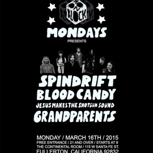 Tonight @spindriftwest in FULLERTON, CA @Continental Lounge on around 11:30pm, show starts at 9:30 4 bands! Presented by @moonblockparty gonna try to stop by @burgerrecords4life