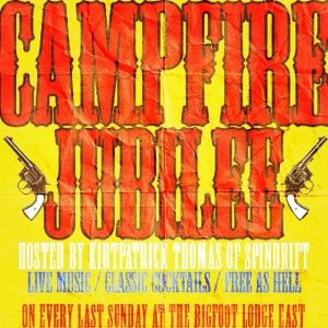 """Campfire Jubilee every last Sun(tomorrow) @Bigfoot Lodge in Los Angeles, CA FREE! Dj Carlos Rossi plus Live Musical Guests """"Los Paniolos"""" Bring on the weird Wild West!"""
