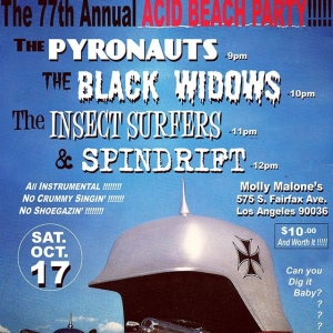 All Surf Rock Attack Acid Beach Party (at an Irish Bar!) w/ @spindriftwest @insectsurfers @pyronauts #theblackwidows @mollymalonesjakarta
