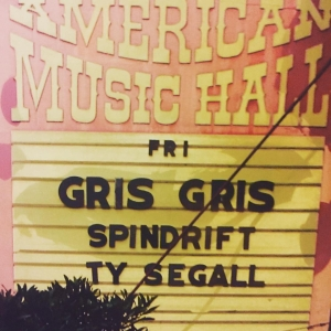 #tbt  08/07/09 @spindriftwest @tysegall Gris Gris @gregashley_ @greatamericanmusichall