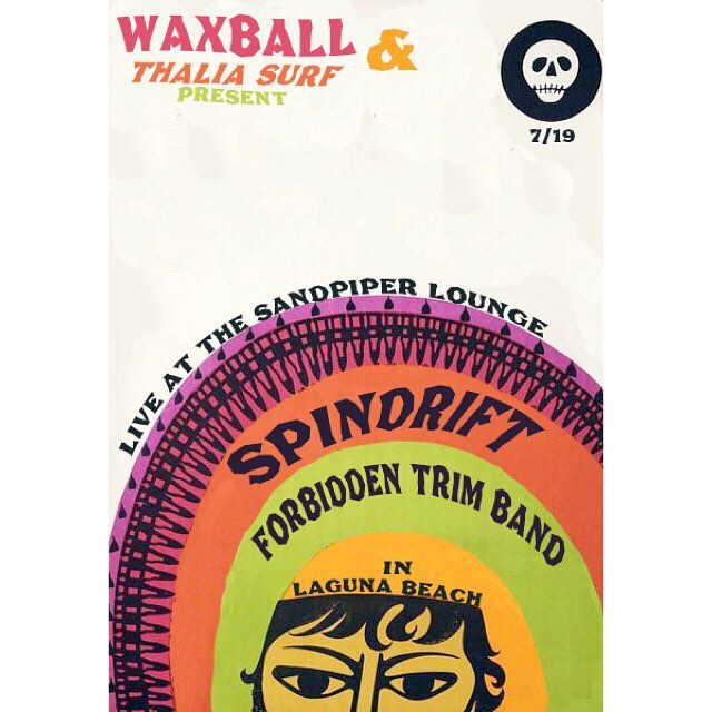 #sandpiperlounge Wed 07.19 @spindriftwest care of @thewaxball & @thaliasurf !!!
