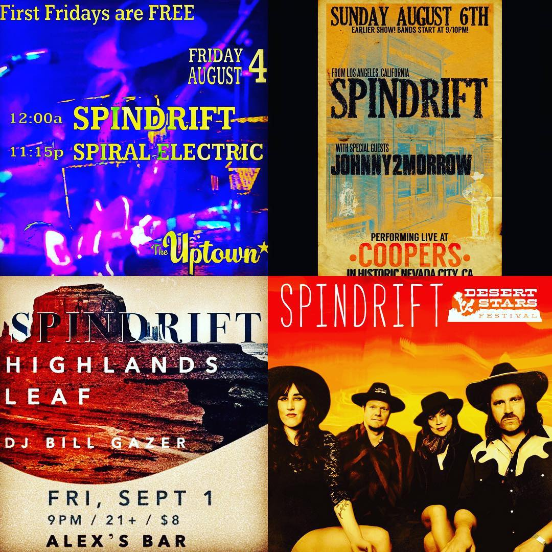 #Spindrift TONIGHT in OAKLAND! #freefirstfridays @theuptownoakland w/ @thespiralelectric +many others 11pm