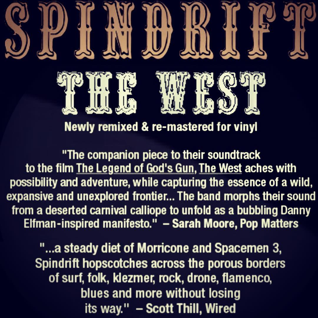 COMING SOON •Summer 2017 we took studio time @dennismoodymusic to revive our 2009  album #thewest for VINYL (FINALLY!) re-mixed re-mastered & packaged the way it was originally intended @xemurecords WE CAN'T WAIT! @pluckyeah @koenigco @thank_heavens @julie_patterson #spindrift #thewestisthebest