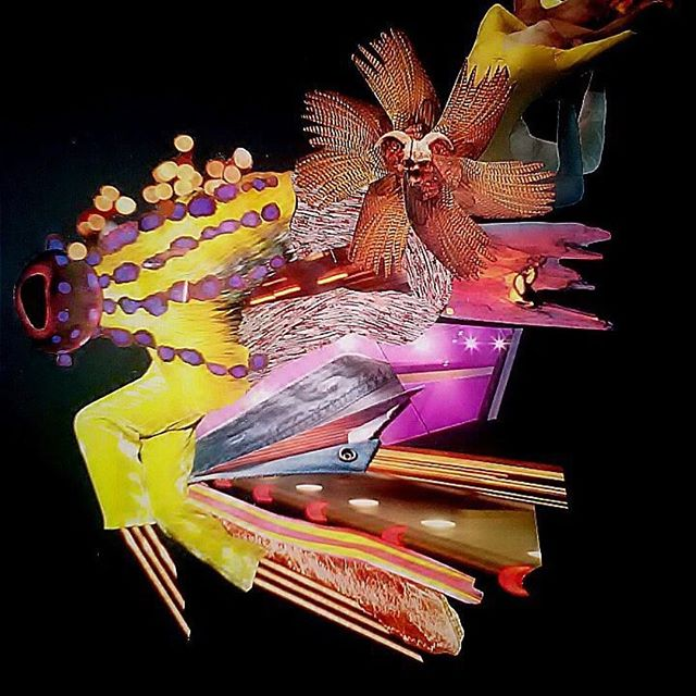 "@corygladfelter #collageart ""Blaze"" Please take a look at more. #spindrift #albumcover #albumart #coverart #surrealistic #faroutman"