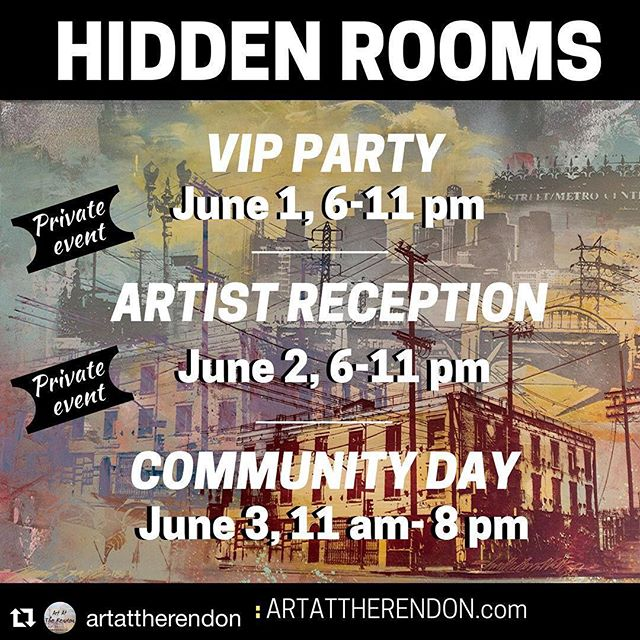 THIS FRI • 06.01.18 #dtlaartsdistrict @spindriftwest @artattherendon #hiddenrooms #vipparty 6-10pm #spindrift @9pm www.artattherendon.com ??? 3 days, 60+ Artists & Musicans ? we perform VIP Party: June 1, 6-11 pm (Private event- limited tickets) #HiddenRooms #ArtAtTheRendon @rebeccaddavidson @jz323 @mo.kaele