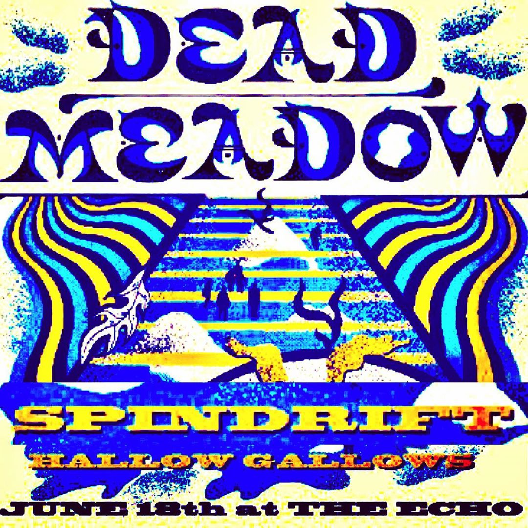 Returning to LA! So excited for TUES 06.18.19 @thedeadmeadow @spindriftwest @hallowgallows @theechola #psychedelic #psychrock #westernpsych #echoparklake ••• SONGS FROM THE ANCIENT AGE now ON #whiskeyandblood VINYL #remastered #rereleased ORDER @littlecloudrecords or spindriftla.bandcamp.com #spindrift #spindriftwest #eastmeetswest @alternativetentacles @teepeerecords @divinedroidrecords @xemu_records_official @rebeccaddavidson @trashbaghashtag @jz323 @laweekly @latimesevents