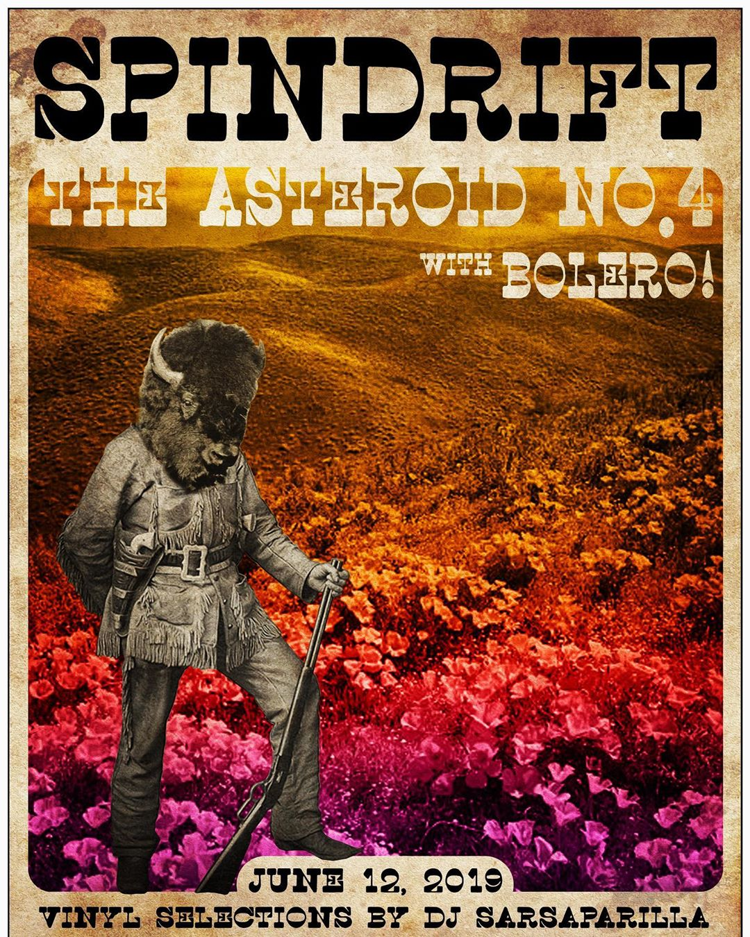 @thechapelsf return to SF! 06.12.19 With our best buds @theasteroidno4 & @bolero.sfc • Songs from the Ancient Age is now remastered on limited edition colored vinyl! We'll have them at the show! Or get it spindriftla.bandcamp.com @littlecloudrecords #spindrift #sanfran #remastered #eastmeetswest #psychrock
