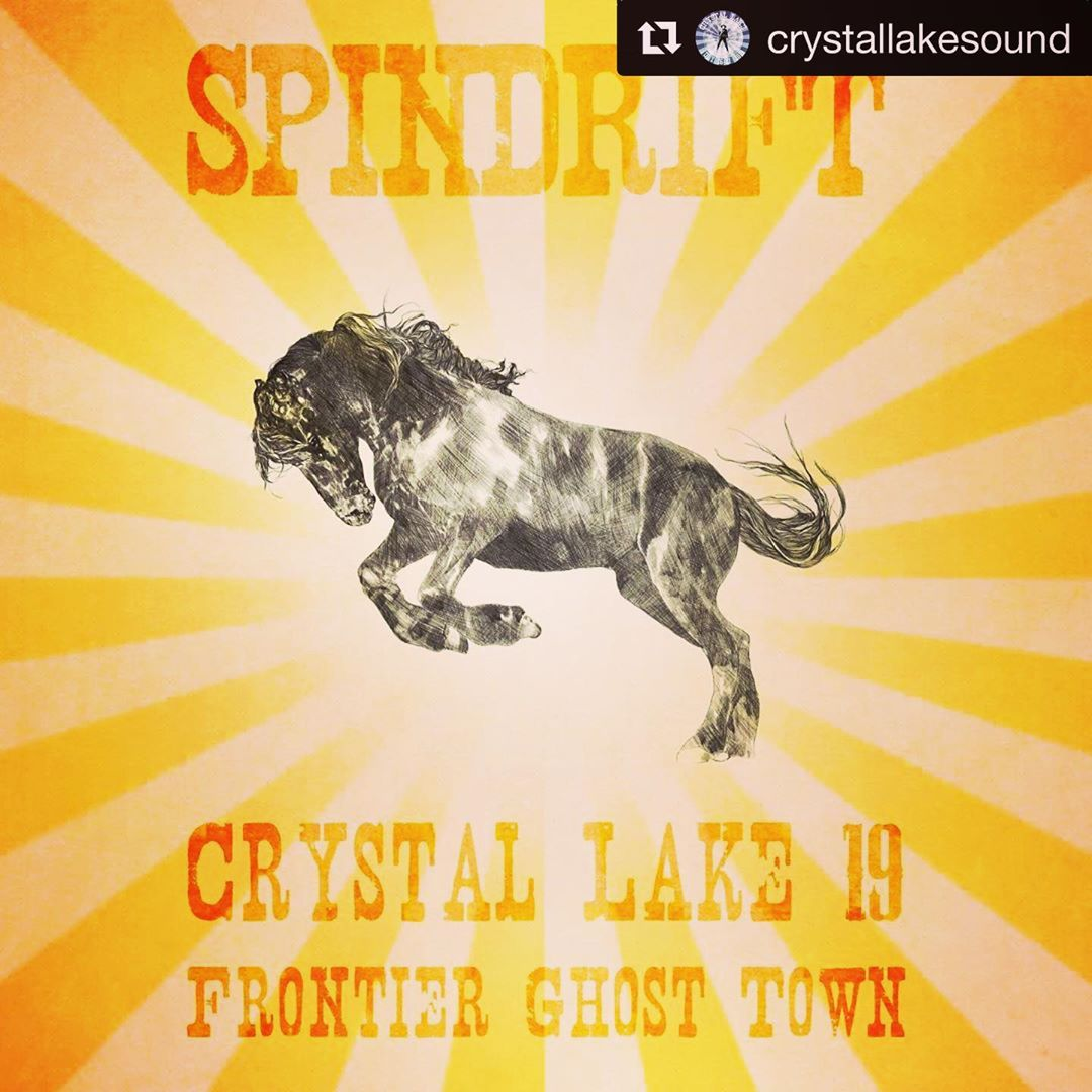 A bit reclusive as of late, working on the #newalbum #spindrift #classicsoundtrackseries #vol3 for @alternativetentacles however this coming weekend • 07.26-27.19 •we return to #crystallakesound #ontariocanada #frontierghosttown with @aptbs @thedeadmeadow @lumerians @highlandsband @orvillepeck & MORE •see ya SOON friends!!!#torontomusicscene @hotgarbg @badwaitressband #spaghettiwestern #spindriftwest @spindriftwest @spindrift @teepeerecords @xemu_records_official @littlecloudrecords @divinedroidrecords