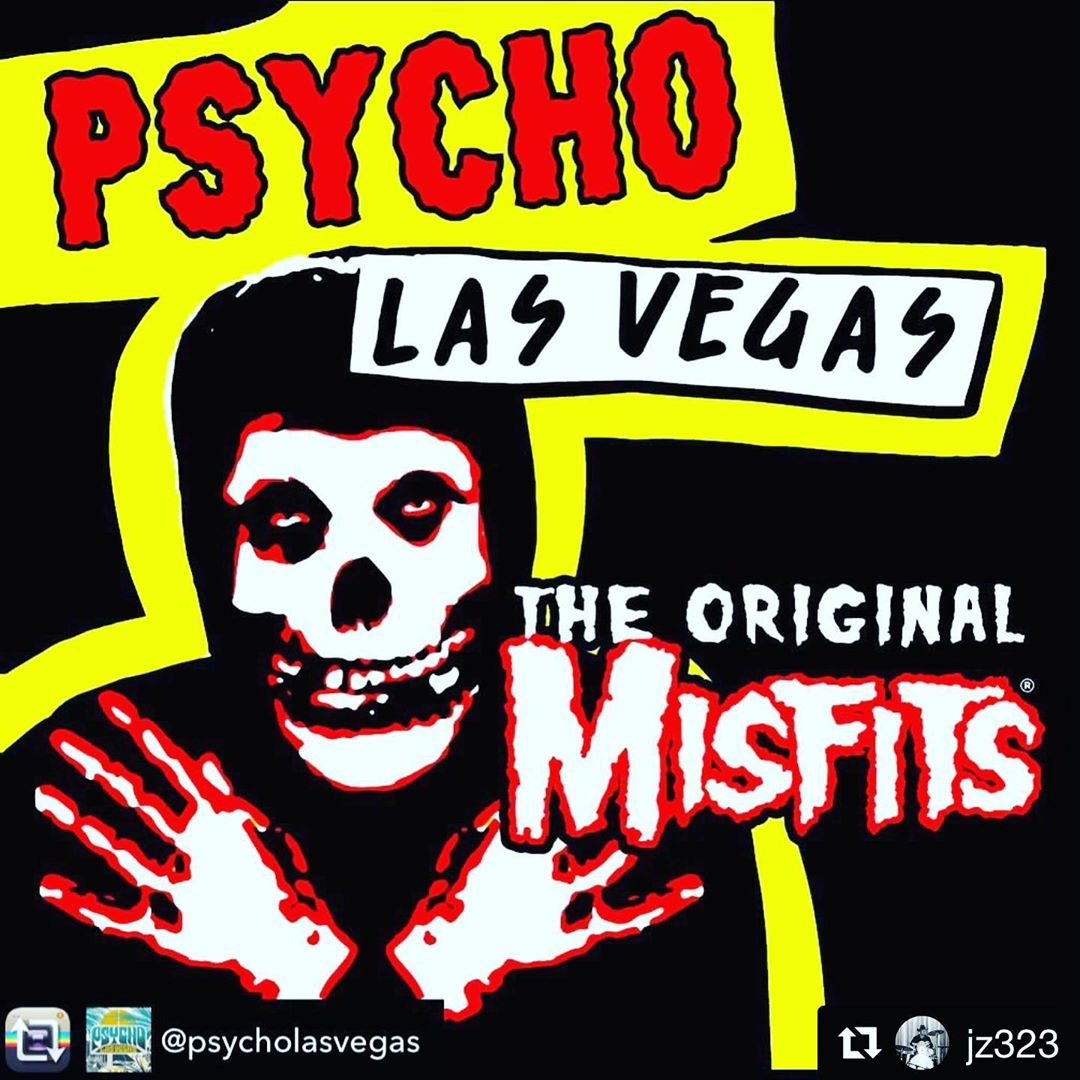Dreamed of seeing the original @officialmisfits & now we get to play the same festival!!? #astrozombies #hollywoodbabylon @psycholasvegas @spindriftwest • FRI 08.16.19 9:30pm • with @theblackangels @highonfireband @dailymattpike @crazyworldofarthurbrown @marklanegan @badreligionband @uncleacidandthedeadbeats & MORE! @mandalaybay #lasvegas @trashbaghashtag #spindriftwest @rebeccaddavidson @jz323 @littlecloudrecords @divinedroidrecords @alternativetentacles @teepeerecords #spindrift @xemu_records_official